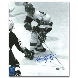 Wayne Gretzky Autographed OHL 8X10 Photo (Edmonton Oilers)