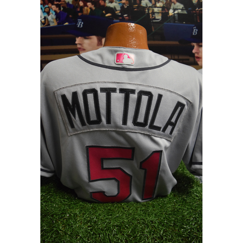 Photo of Game-Used Mother's Day Jersey: Chad Mottola