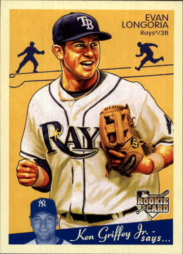 Photo of 2008 Upper Deck Goudey #200 Evan Longoria RC