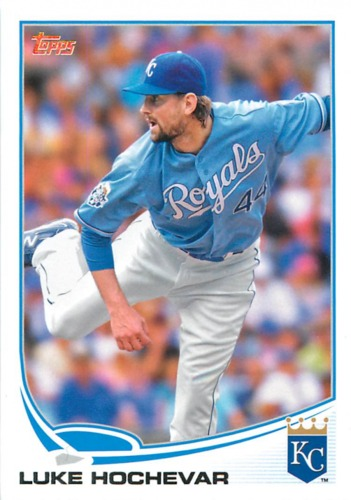 Photo of 2013 Topps #167 Luke Hochevar