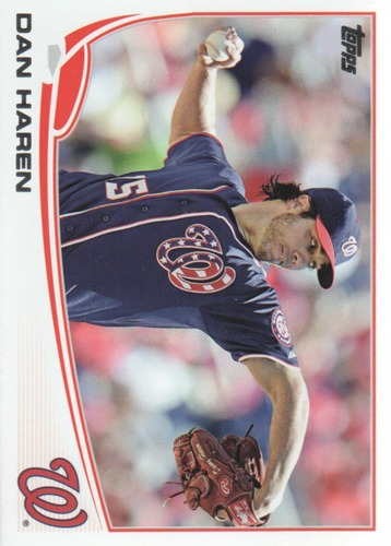 Photo of 2013 Topps Update #US41 Dan Haren