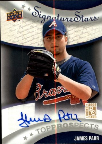 Photo of 2009 Upper Deck Signature Stars #198 James Parr AU (RC)
