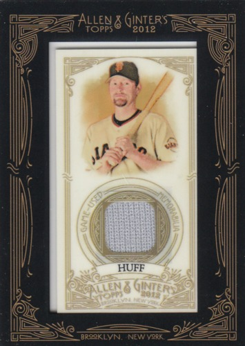 Photo of 2012 Topps Allen and Ginter Relics #AH Aubrey Huff