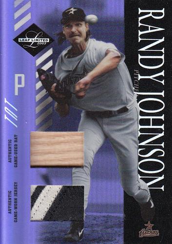 Photo of 2003 Leaf Limited TNT Prime #84 R.Johnson Astros Bat-Jsy