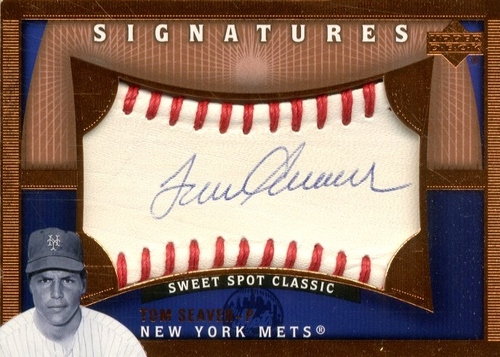 Photo of 2005 Sweet Spot Classic Signatures #TS Tom Seaver T2