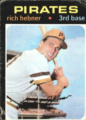Photo of 1971 Topps #212 Rich Hebner