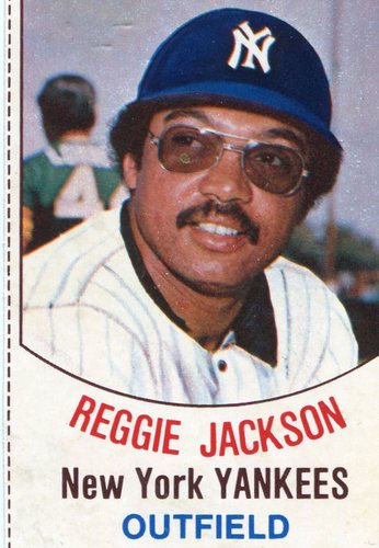 Photo of 1977 Hostess #3 Reggie Jackson