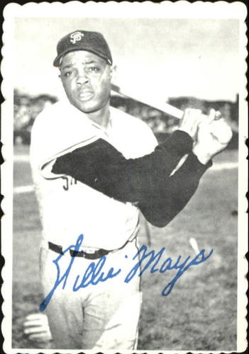 Photo of 1969 Topps Deckle Edge #33 Willie Mays