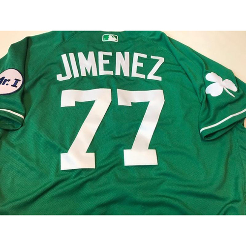 Photo of Team-Issued St Patrick's Day Jersey: Joe Jimenez