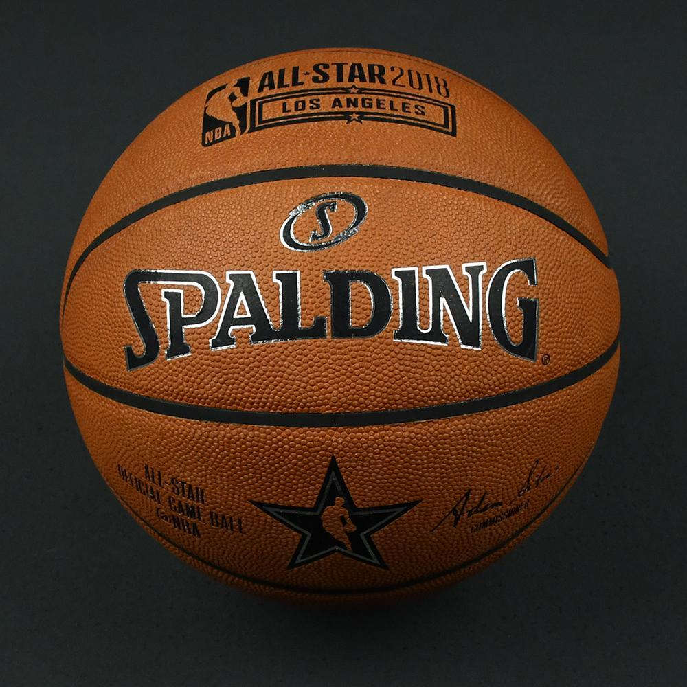 NBA All-Star 2018 Mtn Dew Kickstart Rising Stars - Game-Used Basketball (4th Quarter)