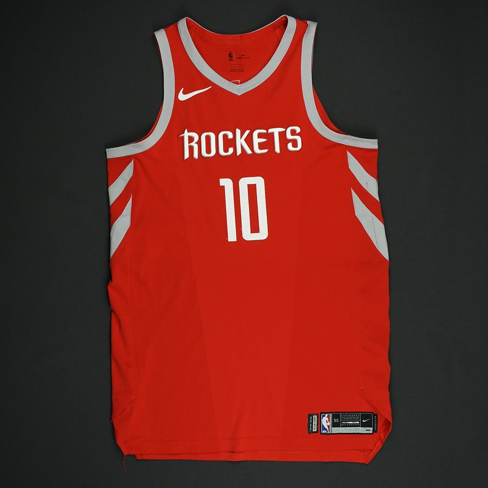 Eric Gordon - Houston Rockets - NBA Christmas Day '17 Game-Worn Jersey