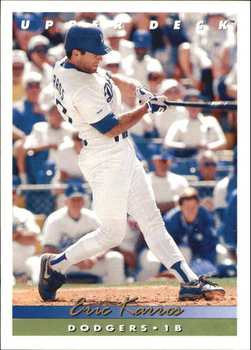 Photo of 1993 Upper Deck Gold Hologram #385 Eric Karros