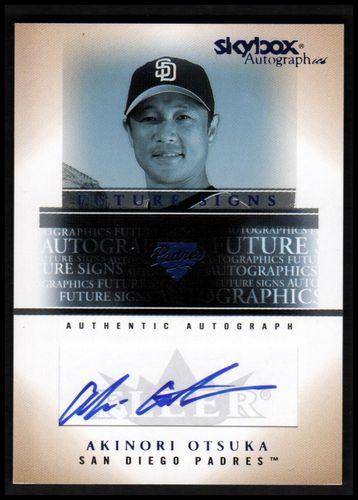 Photo of 2005 SkyBox Autographics Future Signs Autograph Blue #AO Akinori Otsuka/639 *