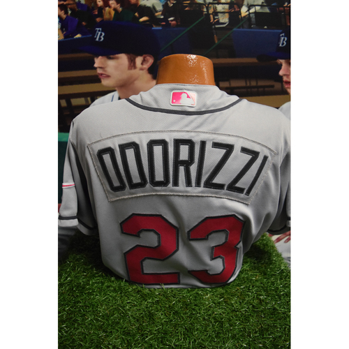 Photo of Game-Used Mother's Day Jersey: Jake Odorizzi