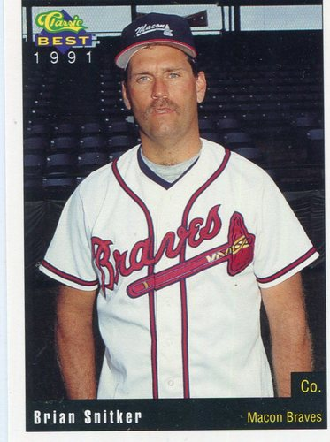 Photo of 1991 Macon Braves Classic/Best #18 Brian Snitker CO