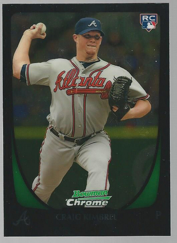 Photo of 2011 Bowman Chrome Draft #50 Craig Kimbrel RC