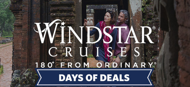 WINDSTAR 12-DAY ICONS OF SOUTHEAST ASIA CRUISE - PACKAGE 1 of 2