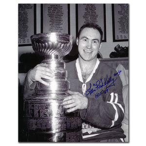 Red Kelly Toronto Maple Leafs HOF STANLEY CUP Autographed 8x10