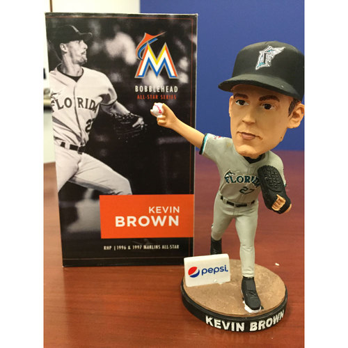 Photo of Marlins Charity Auction, Kevin Brown Bobblehead