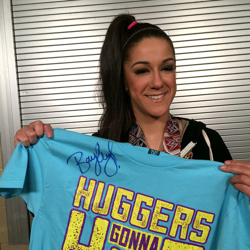 Photo of Bayley SIGNED Authentic T-Shirt (Size L)