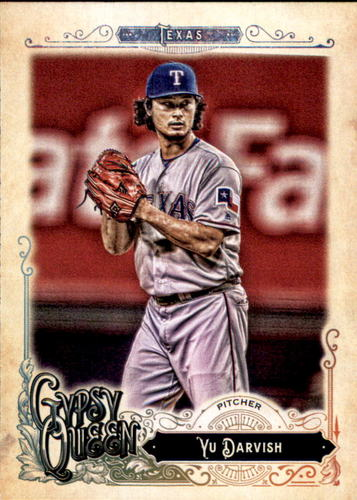 Photo of 2017 Topps Gypsy Queen #89 Yu Darvish