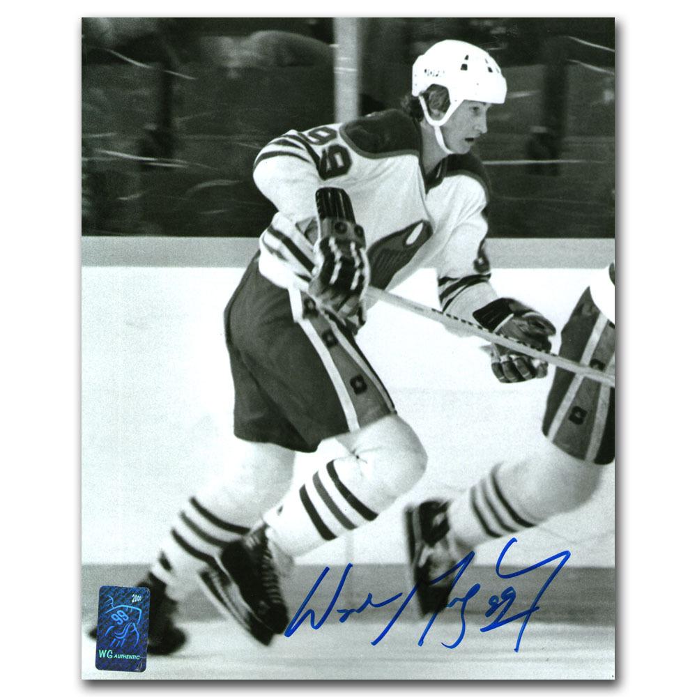 Wayne Gretzky Autographed Edmonton Oilers 8X10 Photo