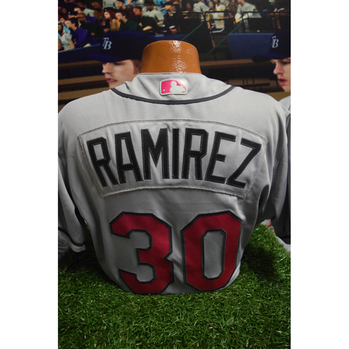 Photo of Game-Used Mother's Day Jersey: Erasmo Ramirez