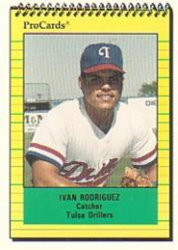 Photo of 1991 Tulsa Drillers ProCards #2776 Ivan Rodriguez