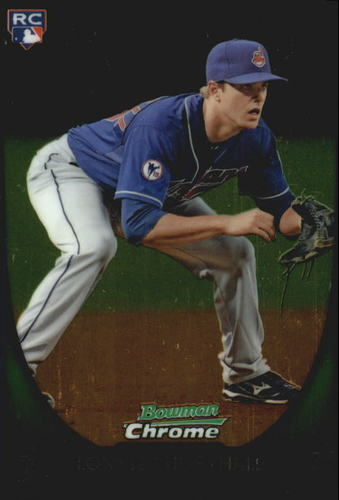Photo of 2011 Bowman Chrome Draft #20 Lonnie Chisenhall Rookie Card -- Indians post-season