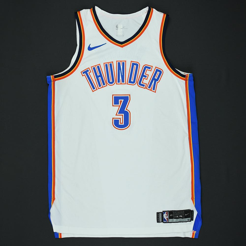 Corey Brewer - Oklahoma City Thunder - 2018 NBA Playoffs Game-Worn Jersey