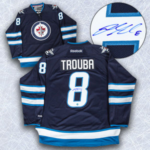 Jacob Trouba Winnipeg Jets Autographed Reebok Premier Jersey