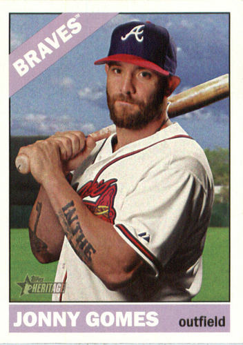Photo of 2015 Topps Heritage #572 Jonny Gomes