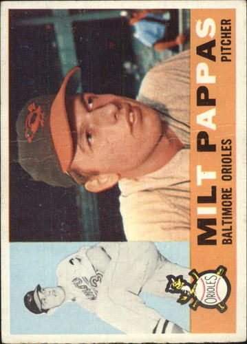 Photo of 1960 Topps #12 Milt Pappas