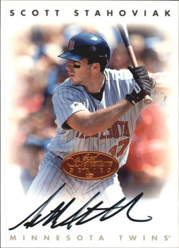 Photo of 1996 Leaf Signature Autographs #213 Scott Stahoviak