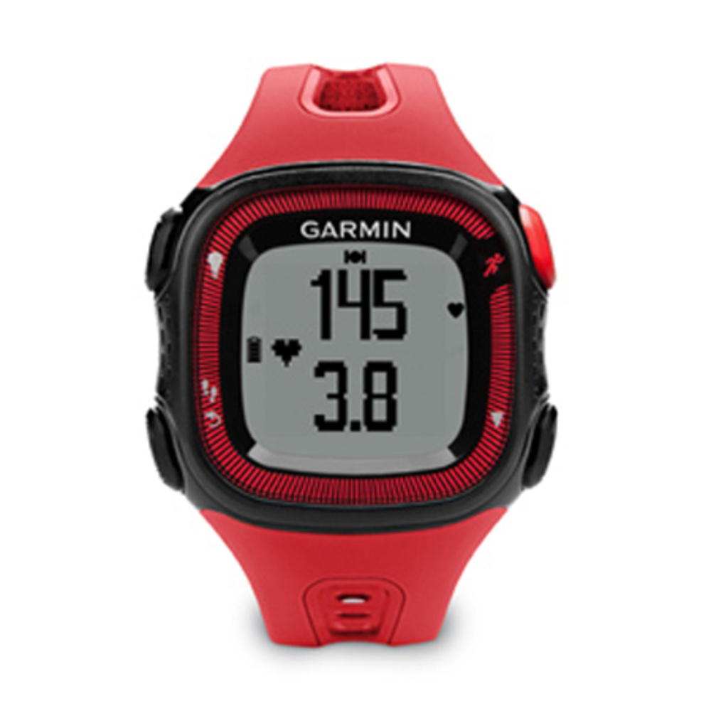 Garmin 010-N1241-01 Forerunner 15 Color Black / Red  Size Large