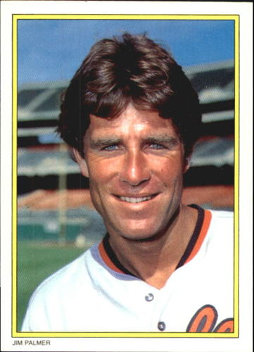 Photo of 1983 Topps Glossy Send-Ins #19 Jim Palmer