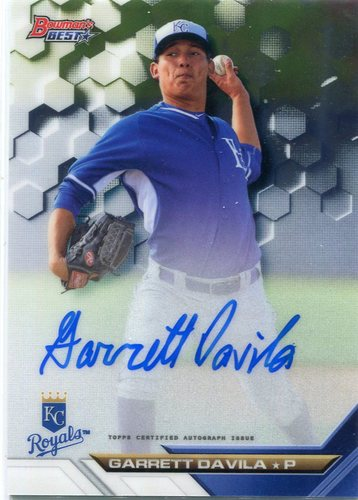 Photo of 2016 Bowman's Best Best of '16 Autographs #B16GD Garrett Davila