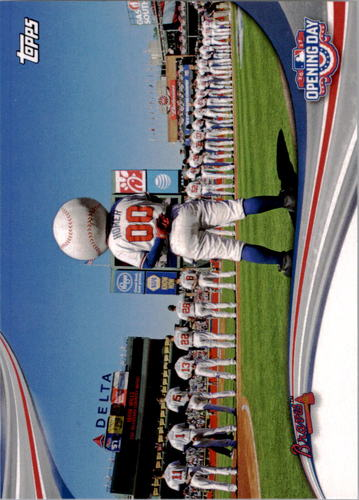 Photo of 2017 Topps Opening Day Opening Day #ODB8 Atlanta Braves