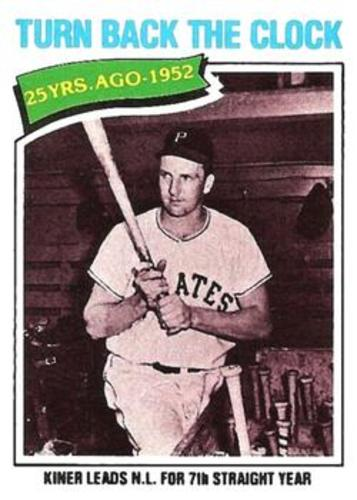 Photo of 1977 Topps #437 Ralph Kiner TBC