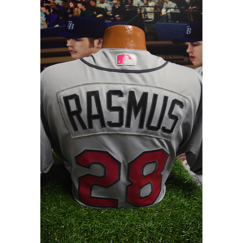 Photo of Game-Used Mother's Day Jersey: Colby Rasmus