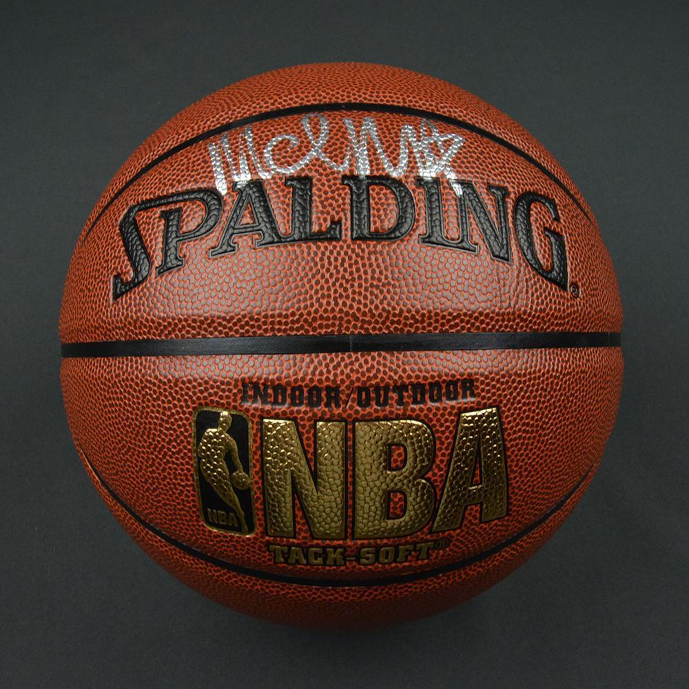 Malik Monk - Charlotte Hornets - 2017 NBA Draft - Autographed Basketball