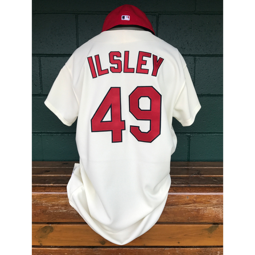 Cardinals Authentics: Blaise Ilsley Game-Used 1967 Throwback Jersey and Cap