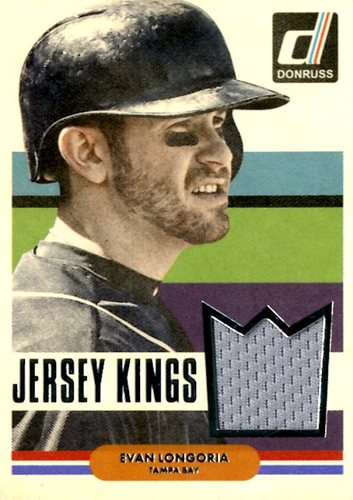 Photo of 2015 Donruss Jersey Kings #20 Evan Longoria