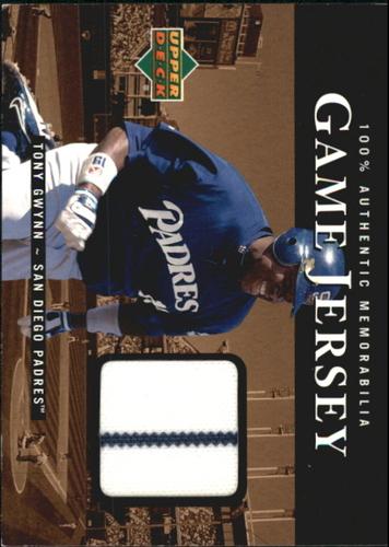 Photo of 2000 Upper Deck Game Jersey #TG Tony Gwynn HR2