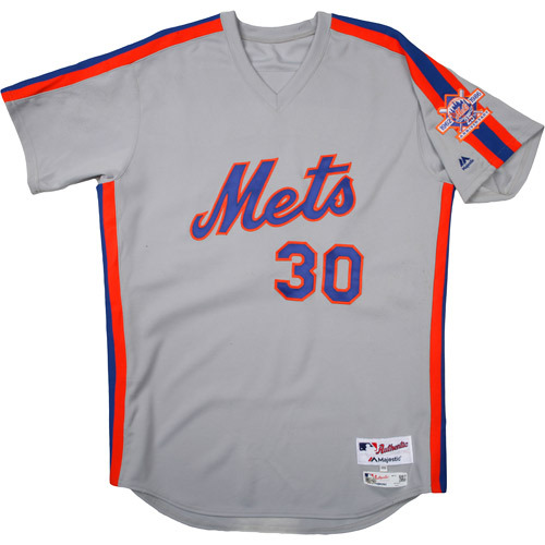 Photo of New York Mets 1986 Throwback Complete Game-Used Uniform Set - Michael Conforto (1-4, Double)