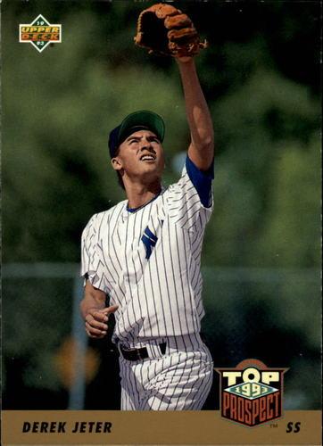 Photo of 1993 Upper Deck #449 Derek Jeter -- New York Yankees rookie card