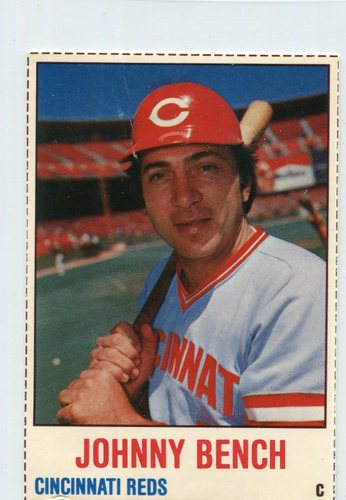 Photo of 1978 Hostess #44 Johnny Bench