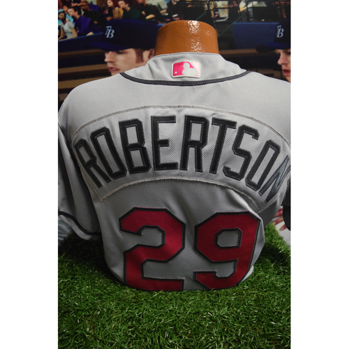 Photo of Game-Used Mother's Day Jersey: Daniel Robertson