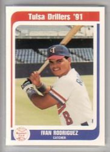 Photo of 1991 Tulsa Drillers Team Issue #23 Ivan Rodriguez