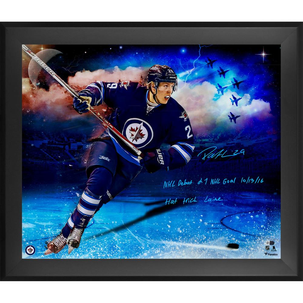 Patrik Laine Winnipeg Jets Framed Autographed 20